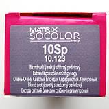 10Sp (очень-очень светлый блондин серебристый жемчужный) Стойкая крем-краска Matrix Socolor.beauty,90 ml, фото 2