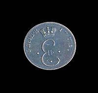 3 денги 1771 года  Молдаво-Валахская монета копия медь №366 копия