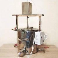"""Сыроварня-пастеризатор """"Варюша 15Л"""" автоматическая электрическая для сыра (домашняя водяная рубашка объем 15л)"""