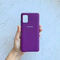 Чехол на Samsung Galaxy A51 Silicone Case сиреневый силиконовый / для Самсунг Гелекси А51