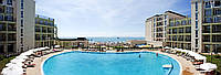 42 000 евро - 2-х комнатная квартира с видом на море на 1-й линии моря в 4-х звездочном к-се Festa Pomorie