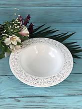 Набор тарелок для супа 3 шт. Королевская лилия