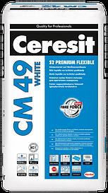 CM 49 WHITE Клеящая смесь S2 Premium Flexible