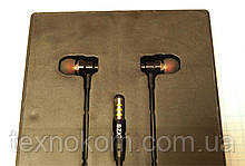 Навушники-гарнітура SZX, SD08 вакуумні, міцна оплетка шнура