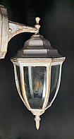 Вуличне бра - настінний ліхтар білий, фото 1