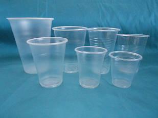 Стаканы одноразовые пластиковые
