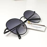 Солнцезащитные очки женские круглые Rinawale 3121T6