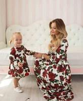 Детское  Платье  Розы D&G
