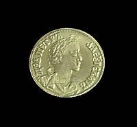 Червонец 1701 года  Петр 1 копия золотой монеты №375 копия