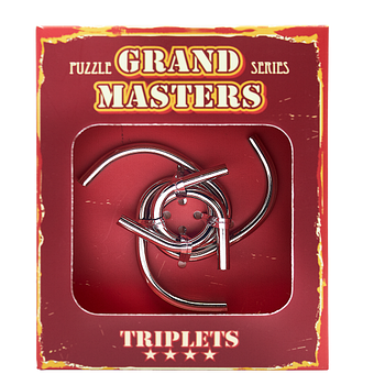 Grand Master Puzzles TRIPLETS red | Головоломка