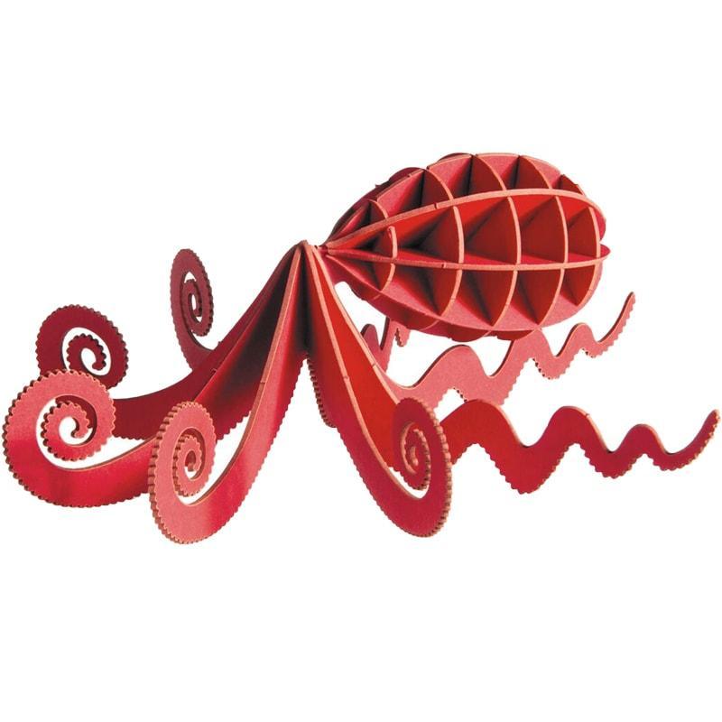 "3D модель із папіру ""Восьминіг"""