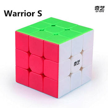 Кубик 3х3 QiYi Warrior S без наклейок