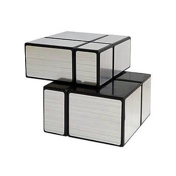 Головоломка Розумний кубик 2х2х2 дзеркальний срібло
