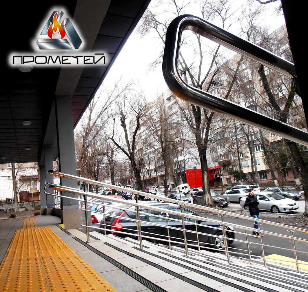 Роздільник потоку і поручні з нержавіючої сталі від виробника в Коломиї Івано-Франківської області