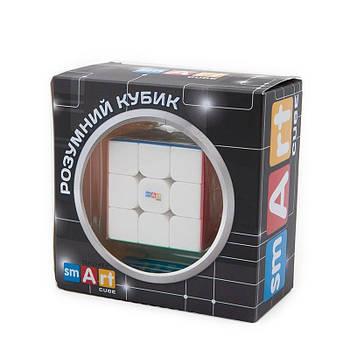 Головоломка Розумний кубик фірмовий магнітний 3х3х3 кольоровий пластик