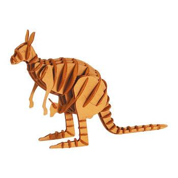 """3D модель із папіру """"Кенгуру"""""""