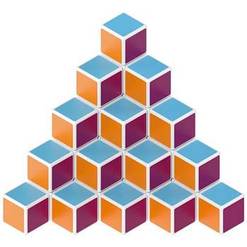 Конструктор Geomag Магнітні кубики набір 64 кубика