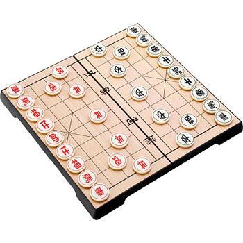 Китайские шахматы Сянци Настольная игра магнитная