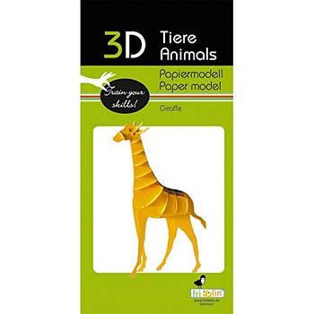"3D модель із папіру ""Жираф"""