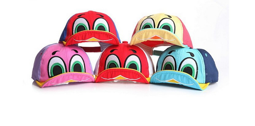 """Мультяшная и невероятно красивая кепка """"Утенок"""" для детей. Лучший выбор. Качественная кепка. Доступно.Код:КД55"""
