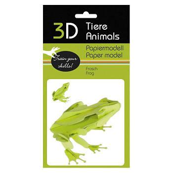 "3D модель із папіру ""Жабка"""