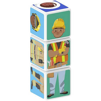 Конструктор Магнітні кубики Професія 3 кубика