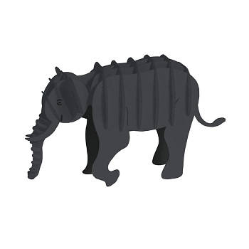 "3D модель із папіру ""Слон"""
