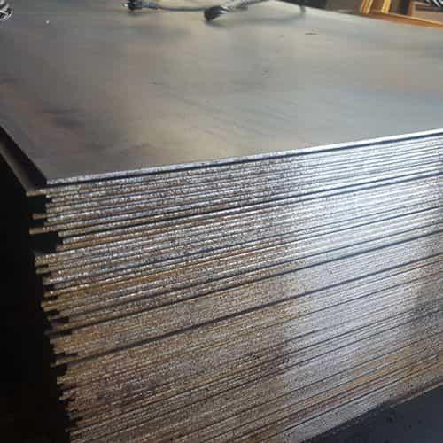 Лист гарячекатаний 25 сталь S355J2+N