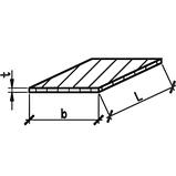 Лист гарячекатаний 25 сталь S355J2+N, фото 4