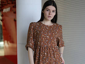 Платье котон « весна»