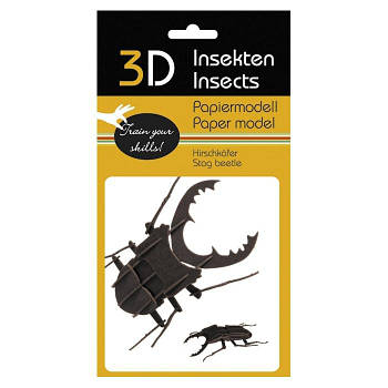"""3D модель із папіру """"Жук"""""""