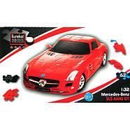 3D пазл машина Mercedes SLS AMG GT 1:32, фото 3