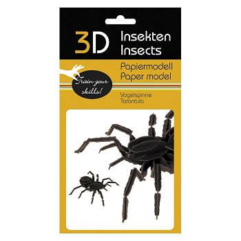 """3D модель із папіру """"Павук"""""""