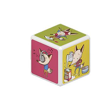 Конструктор Магнітні кубики Oscar&Chips HOME 2 кубика