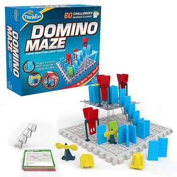 Логічна гра Доміно лабіринт (Domino Maze)