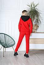 Спортивний костюм 849 червоний, фото 2