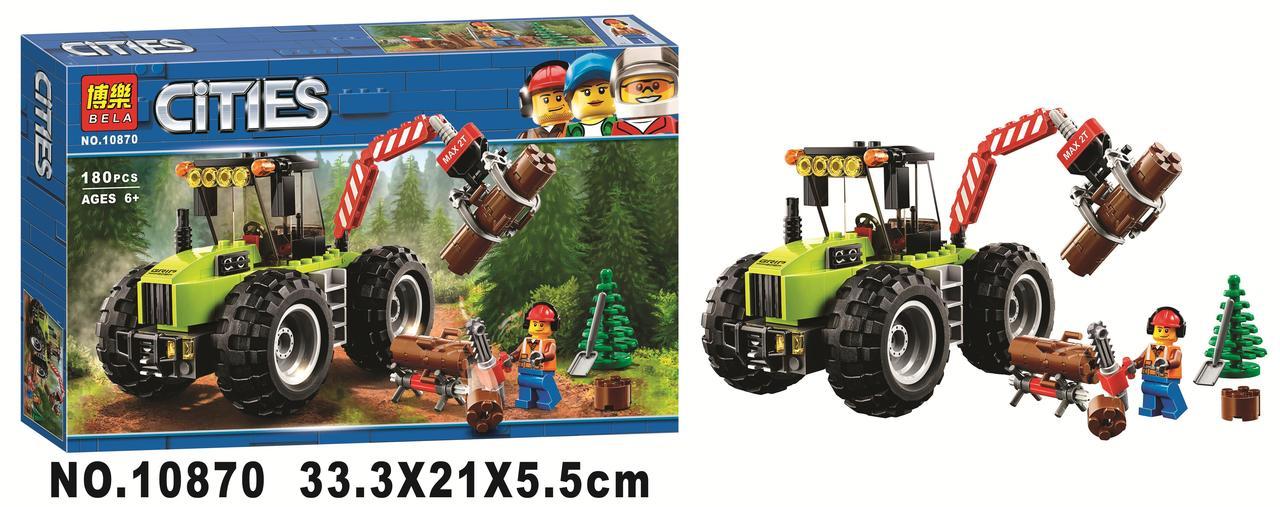 Конструктор BELA 10870 Лісовий трактор