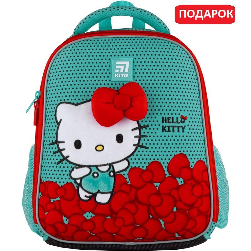 Рюкзак шкільний каркасний Kite Education Hello Kitty Хеллоу Кітті (HK21-555S)