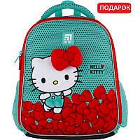 Рюкзак шкільний каркасний Kite Education Hello Kitty Хеллоу Кітті (HK21-555S), фото 1