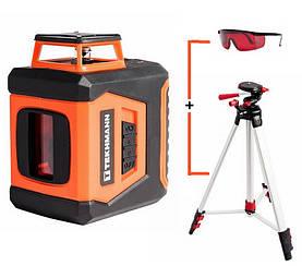 Лазерный уровень нивелир Tekhmann TSL-5 + штатив + очки