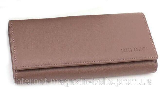 Жіночий шкіряний гаманець Marco Coverna (mc1415-8) пудровий