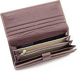 Жіночий шкіряний гаманець Marco Coverna (mc1415-8) пудровий, фото 3