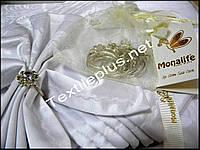 Скатерть с салфетками и кольцами Monalife
