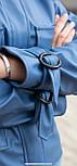 Модная куртка женская демисезонная из эко-кожи, фото 7