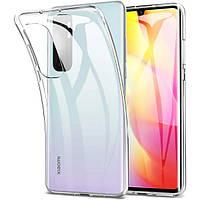 Чехол силиконовый ультратонкий прозрачный для Xiaomi Mi 10 Ultra
