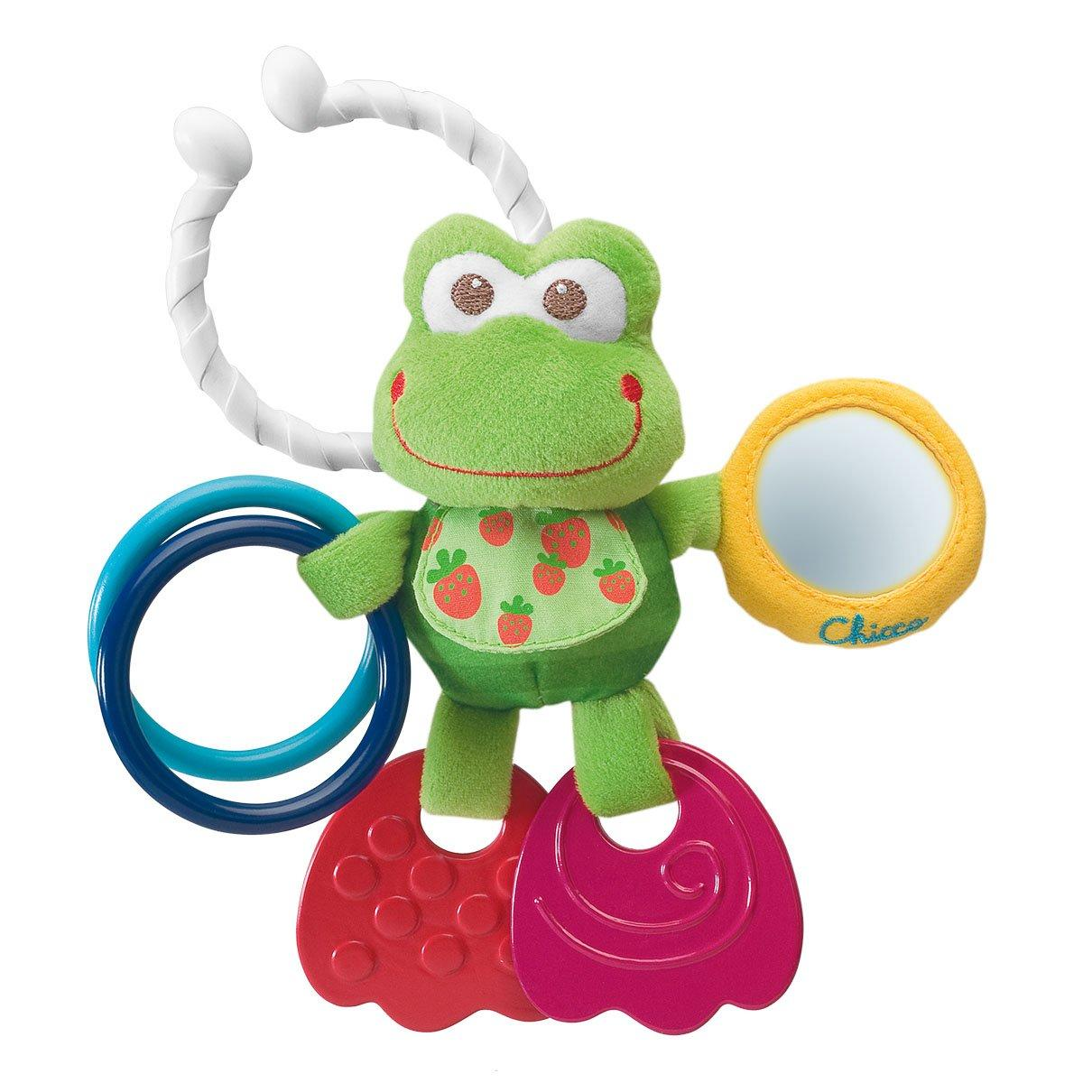 Іграшка-брязкальце Chicco Жабка