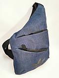 Барсетка слінг на груди ADIDAS месенджер Унісекс/Сумка спортивні для через плече(ОПТ), фото 2