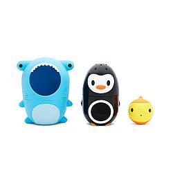 Игрушечный набор для ванной Munchkin Акула и друзья