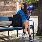 Рюкзак XD Design Bobby Soft Anti-Theft Mint рюкзак-антивор, водоотталкивающий материал, фото 4