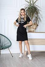 Платье 808 черное